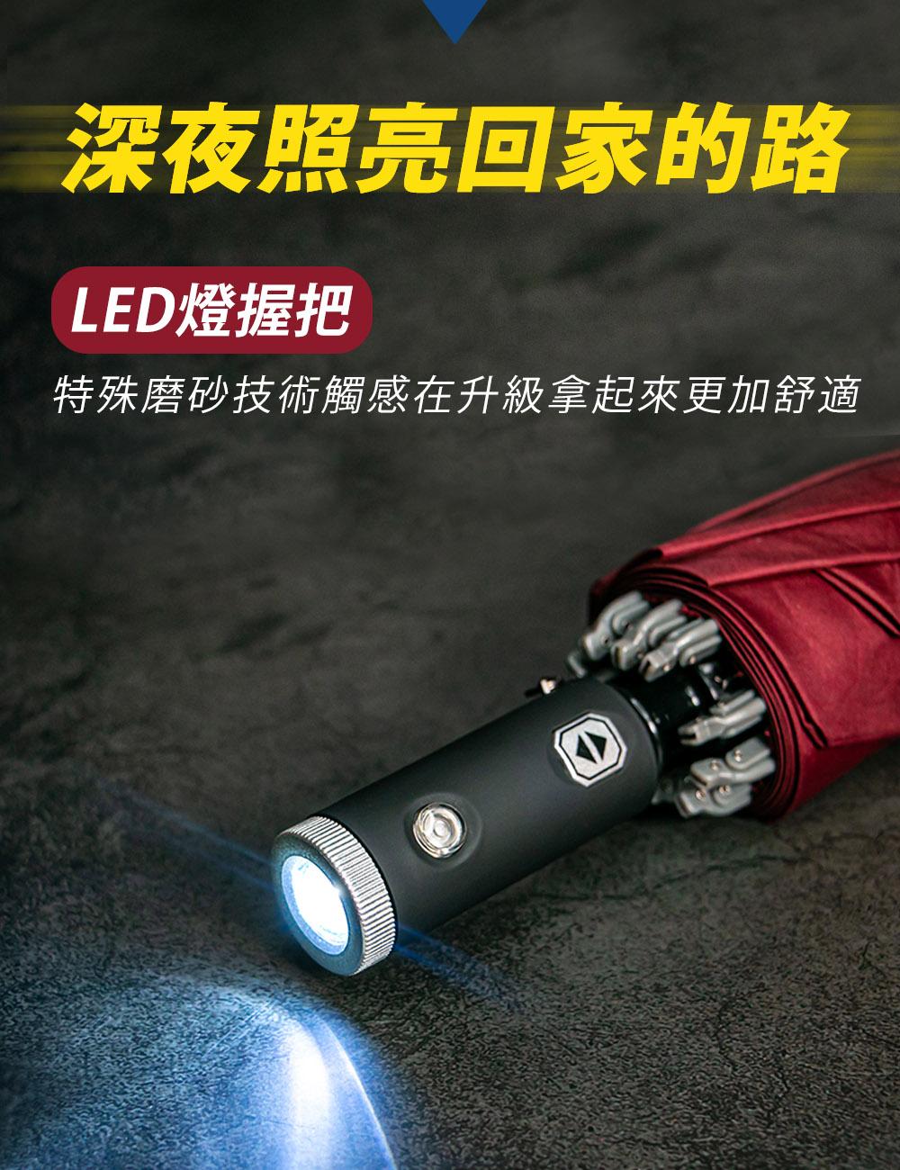 LED燈傘握把